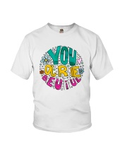 YOU ARE BEAUTIFUL Youth T-Shirt thumbnail