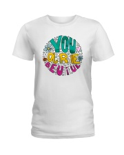 YOU ARE BEAUTIFUL Ladies T-Shirt thumbnail