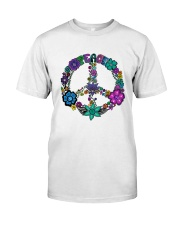 PEACE FLOWER Classic T-Shirt front