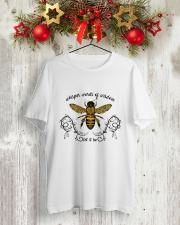 Let It Be 3 Classic T-Shirt lifestyle-holiday-crewneck-front-2