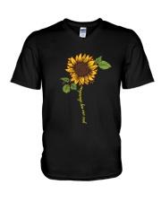 PEACE FLOWER V-Neck T-Shirt thumbnail