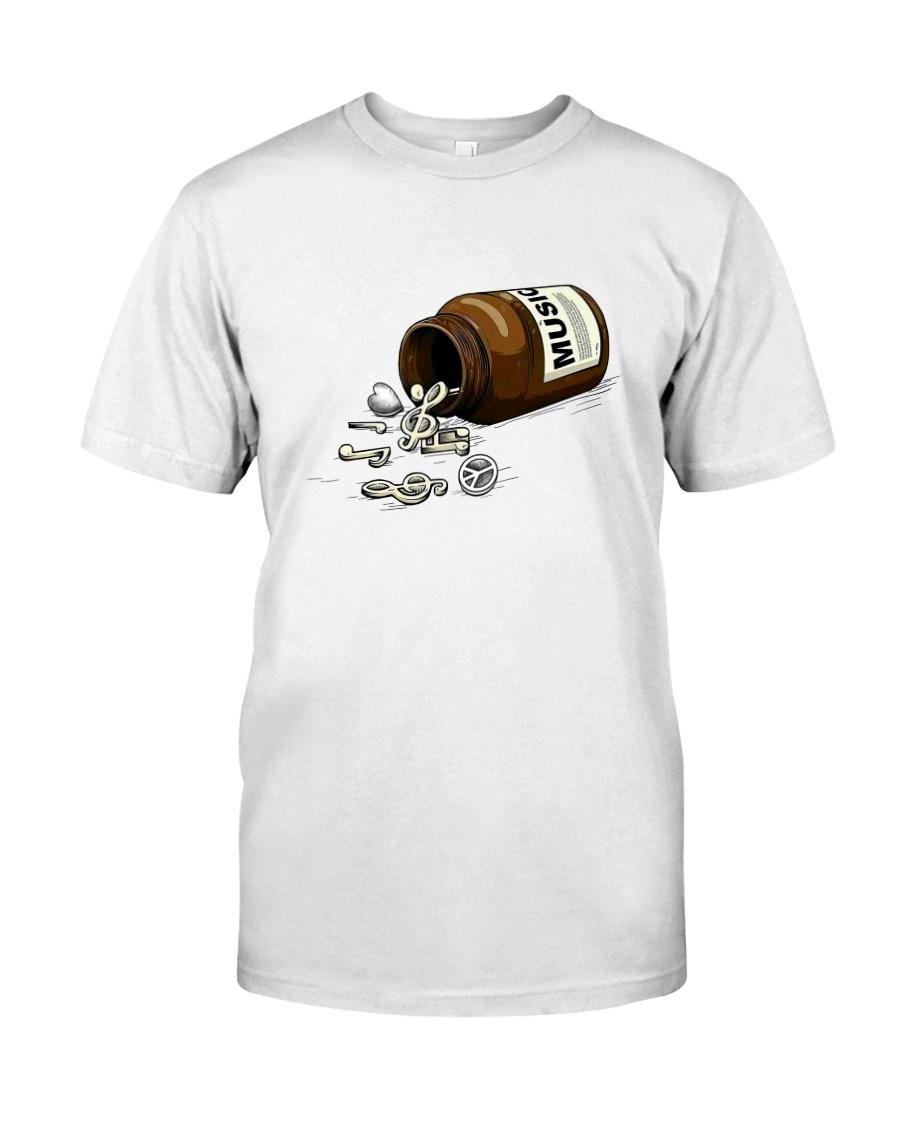 PEACE LOVE MUSIC DRUG Classic T-Shirt