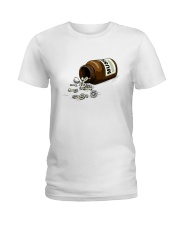 PEACE LOVE MUSIC DRUG Ladies T-Shirt thumbnail
