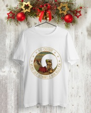 Go Outside Classic T-Shirt lifestyle-holiday-crewneck-front-2