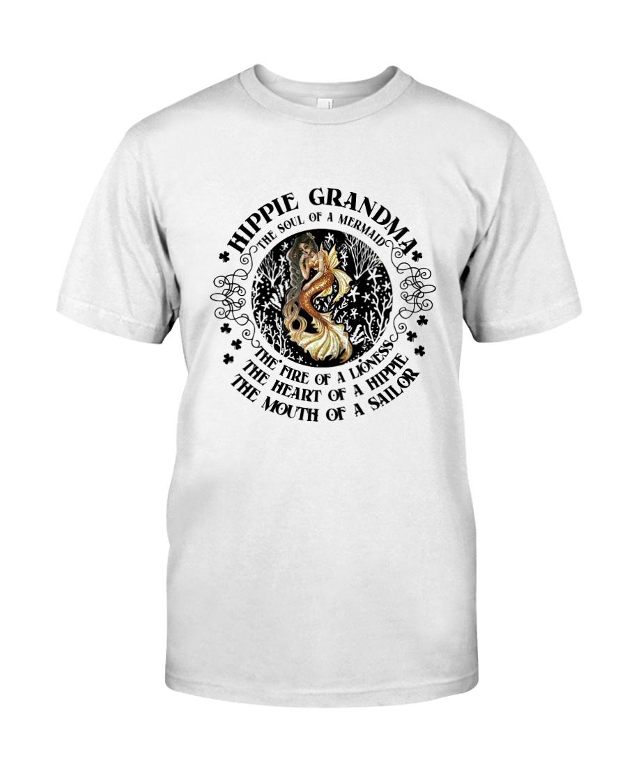 HP-D-27021920-Hippie Grandma 1 Classic T-Shirt