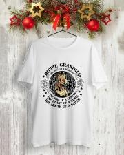 HP-D-27021920-Hippie Grandma 1 Classic T-Shirt lifestyle-holiday-crewneck-front-2