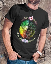 You Can Be Anything Be Kind Classic T-Shirt lifestyle-mens-crewneck-front-4