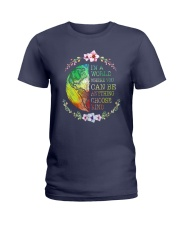 You Can Be Anything Be Kind Ladies T-Shirt thumbnail