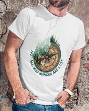 Not all who wander are lost Classic T-Shirt lifestyle-mens-crewneck-front-4