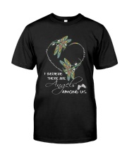 I BELIEVE THERE ARE ANGELS AMONG US Premium Fit Mens Tee thumbnail