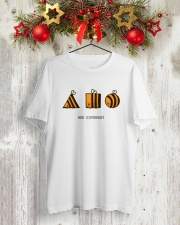Bee different Classic T-Shirt lifestyle-holiday-crewneck-front-2