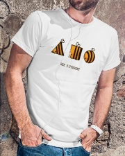 Bee different Classic T-Shirt lifestyle-mens-crewneck-front-4