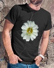 FLOWER PEACE Classic T-Shirt lifestyle-mens-crewneck-front-4