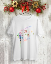 Whisper Words Of Wisdom Classic T-Shirt lifestyle-holiday-crewneck-front-2