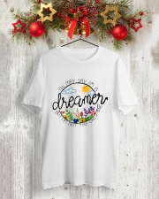 YOU MAY SAY I'M A DREAMER BUT I'M NOT THE ONLY ONE Classic T-Shirt lifestyle-holiday-crewneck-front-2