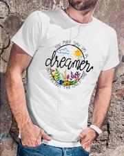 YOU MAY SAY I'M A DREAMER BUT I'M NOT THE ONLY ONE Classic T-Shirt lifestyle-mens-crewneck-front-4