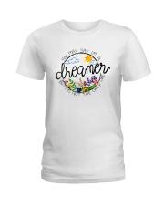 YOU MAY SAY I'M A DREAMER BUT I'M NOT THE ONLY ONE Ladies T-Shirt thumbnail