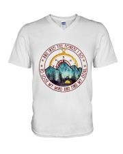 Into The Forest I Go 4 V-Neck T-Shirt thumbnail