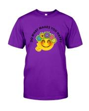 PEACE EMOJI Classic T-Shirt front
