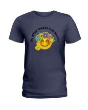 PEACE EMOJI Ladies T-Shirt thumbnail