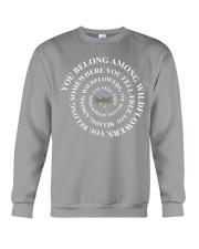 You Belong Among The Wildflowers  Crewneck Sweatshirt thumbnail