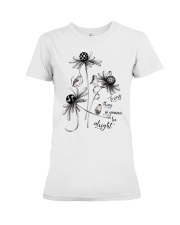 Be alright Premium Fit Ladies Tee thumbnail