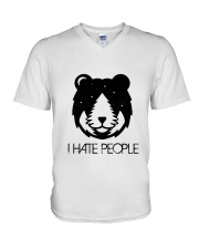 CP-D-01031926-I Hate People V-Neck T-Shirt thumbnail
