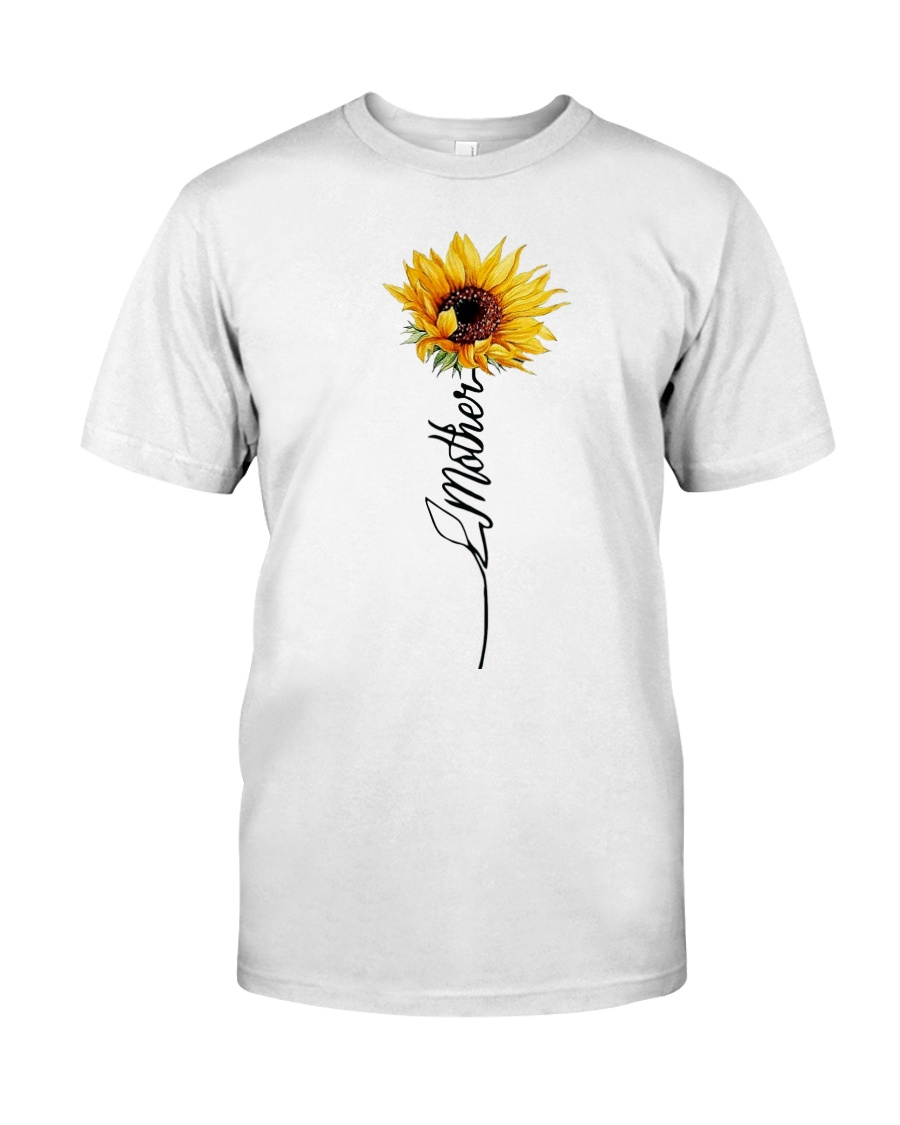 Mother Sunflowers Classic T-Shirt