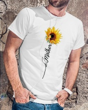 Mother Sunflowers Classic T-Shirt lifestyle-mens-crewneck-front-4