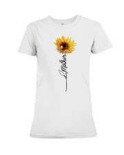 Mother Sunflowers Premium Fit Ladies Tee thumbnail