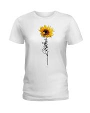 Mother Sunflowers Ladies T-Shirt thumbnail