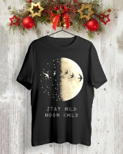 STAY MOOM CHILD Classic T-Shirt lifestyle-holiday-crewneck-front-2