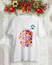 HIPPIE STYLE Classic T-Shirt lifestyle-holiday-crewneck-front-2
