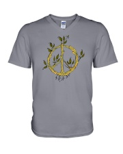 HIPPIE PEACE V-Neck T-Shirt thumbnail