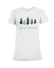 TAKE ME TO THE TREES Premium Fit Ladies Tee thumbnail