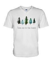 TAKE ME TO THE TREES V-Neck T-Shirt thumbnail