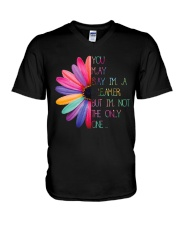YOU MAY SAY IM A DREAMER V-Neck T-Shirt thumbnail