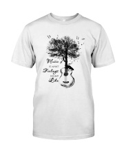 What feelings sound like Classic T-Shirt front