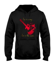 LIFE IS A SONG LOVE IS THE MUSIC Hooded Sweatshirt thumbnail