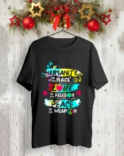 LOVE PEACE Classic T-Shirt lifestyle-holiday-crewneck-front-2