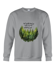 And Into The Forest 3 Crewneck Sweatshirt thumbnail