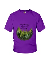 And Into The Forest 3 Youth T-Shirt thumbnail