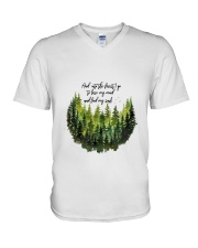 And Into The Forest 3 V-Neck T-Shirt thumbnail