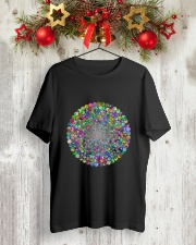 Peace circle Classic T-Shirt lifestyle-holiday-crewneck-front-2
