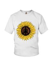 PEACE SUNFLOWER 1 Youth T-Shirt thumbnail