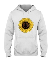 PEACE SUNFLOWER 1 Hooded Sweatshirt thumbnail