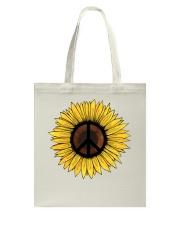 PEACE SUNFLOWER 1 Tote Bag thumbnail
