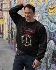 PEACE CHRISTMAS  Crewneck Sweatshirt lifestyle-unisex-sweatshirt-front-4