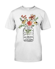 Wild Flower Classic T-Shirt front