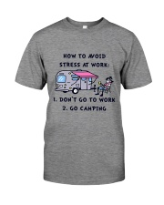 How To Avoid Stress Premium Fit Mens Tee thumbnail